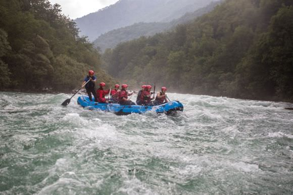 Rafting two days